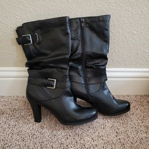 Style & Co black boots New size 8